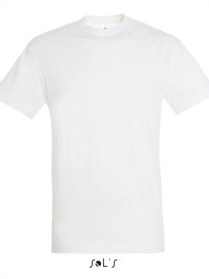T-shirt SOLS REGENT-11380 BLANC Face 150g