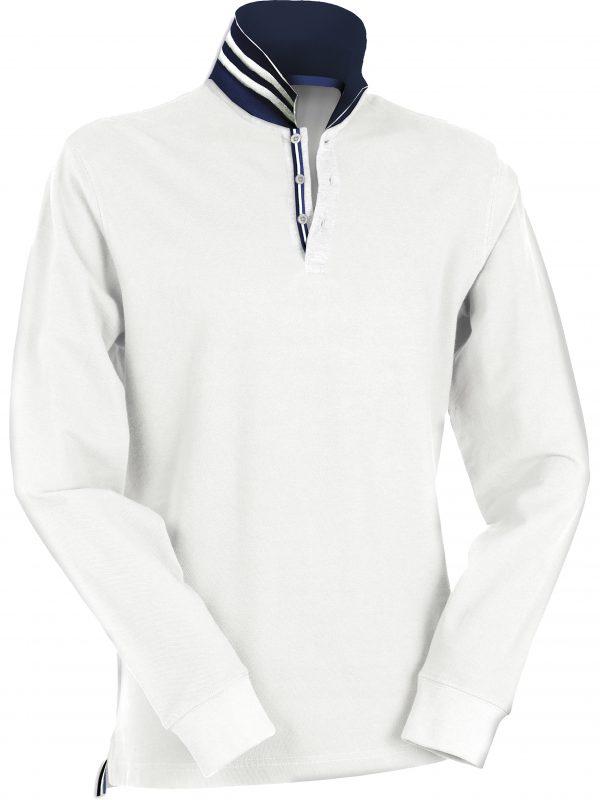 polo-payper-long-reverse-blanc-bewellonline