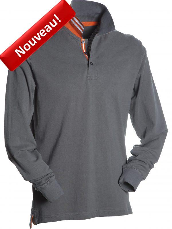 polo-payper-long-reverse-gris-nouveau-bewellonline