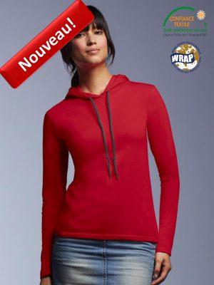 ANVIL 887L_rouge T-shirt manches longues bewellonline