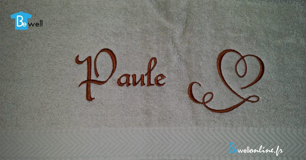 20161214_112128 broderie serviette de bain bewellonline
