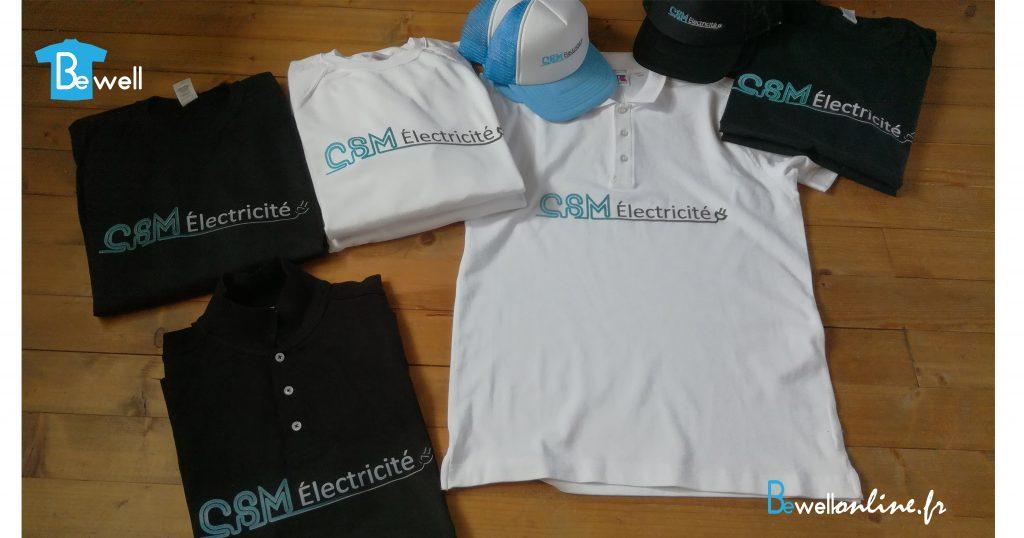 Impression numérique et broderie logo sur casquette bewellonline