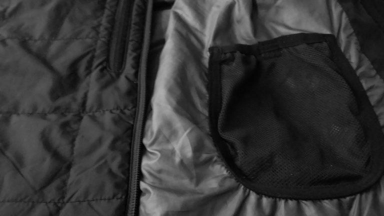 ID IDENTITY 0883 Veste matelassée noir poche intérieure2