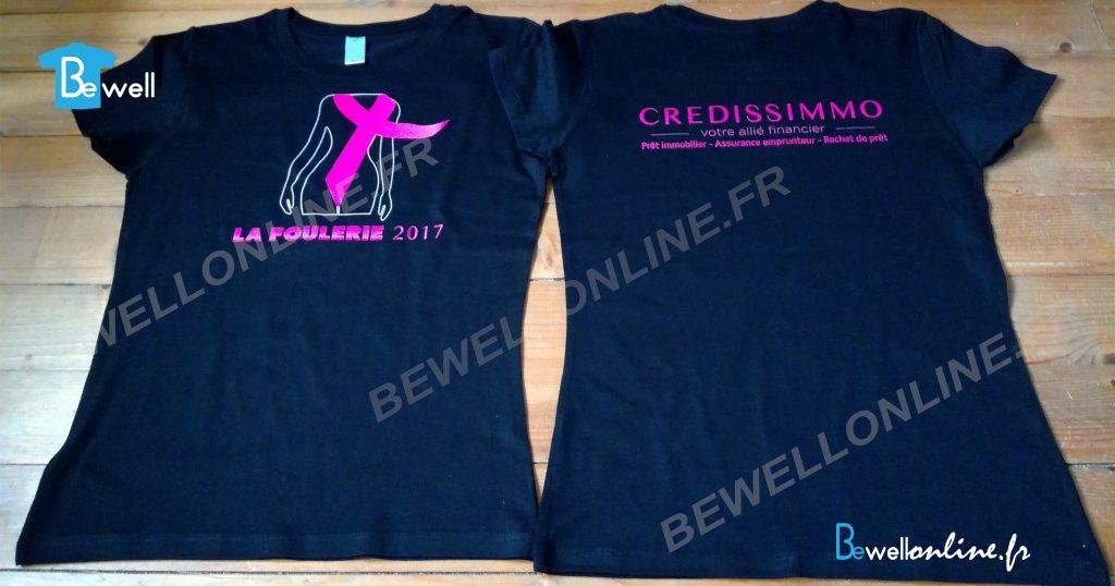 transfert sérigraphique sur t-shirt bewellonline