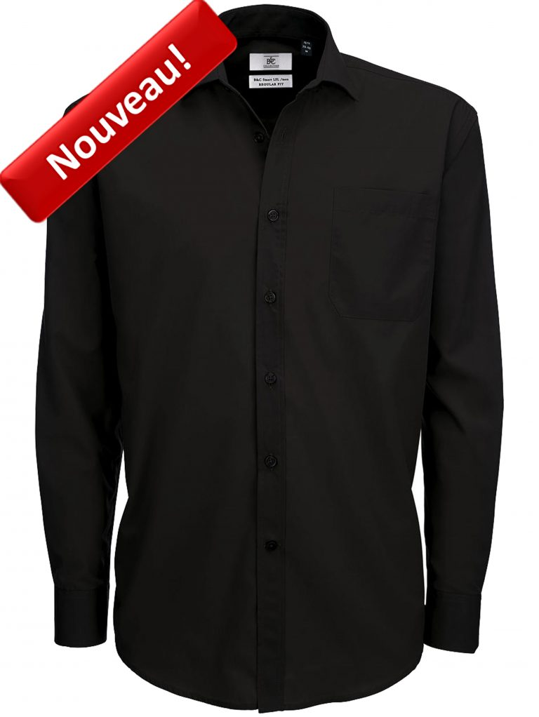 Chemise Homme Manches Longues B&C SMP61